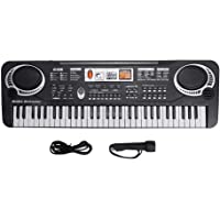 Electric Keyboard Piano 61-Key, Piano Keyboard 61 Key Electric Digital Music Keyboard Portable Electronic Musical…
