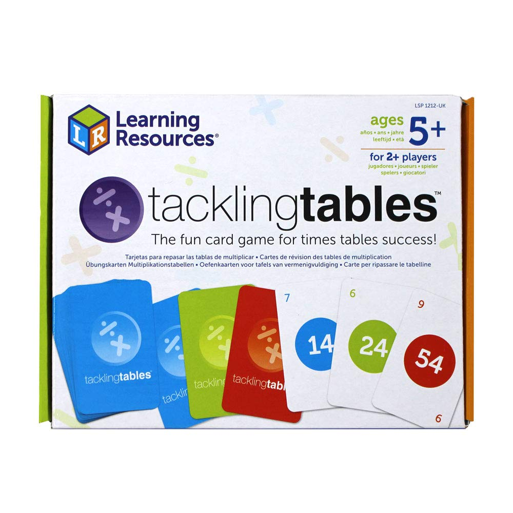 Learning Resources LSP1212-UK tacklingtables Student Set