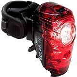 NiteRider Solas 100 lúmenes USB Recargable luz Trasera para Bicicleta Potente luz Diurna Visible luz LED Trasera fácil…