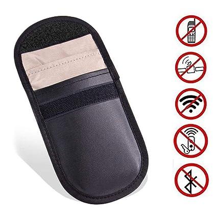 Bloqueo de señal de coche para llaves de coche, sin llave, con bloqueador de