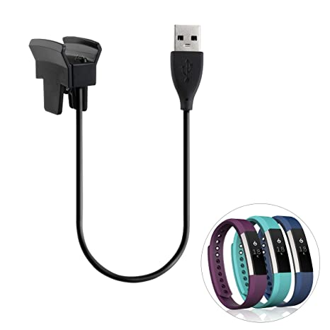 Amazon.com: Fitbit alta Cargador, ukcoco 30 cm Cargador de ...