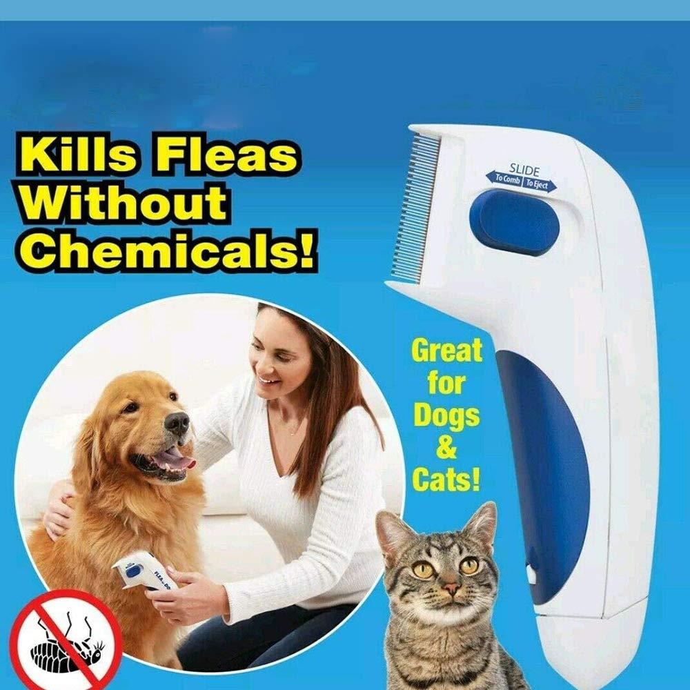 Y&J Flea Doctor Comb Electric Dog Anti Flea Comb Head Lice Remover Pets Flea Control Flea&tick Killer Pets Products by Y&J (Image #7)