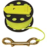 Innovative Scuba Finger Spool With Hand Winder And Brass Clip - Light And Corrosion Free, FL0240