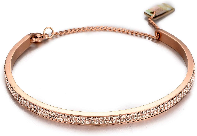 BLZ-9 Rose Gold Plated Bangle Adjustable Bracelet 8x155mm Rose Gold Plated Cuff Bangle 1 Pcs, Polished Bracelet Hand Made Bracelet