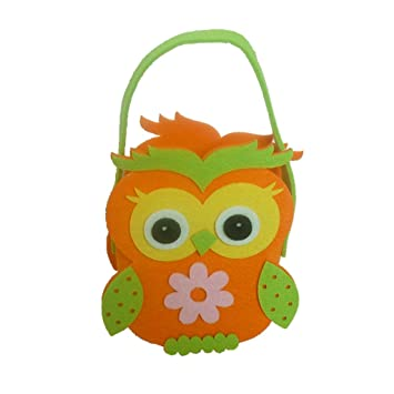 Amazon baoblaze lovely easter egg basket bag kids owl fabric baoblaze lovely easter egg basket bag kids owl fabric bag carry candy egg gifts cute tote negle Gallery