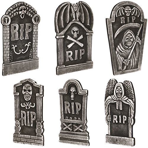 Loftus International Loftus Graveyard Halloween Decor 6Pc 19