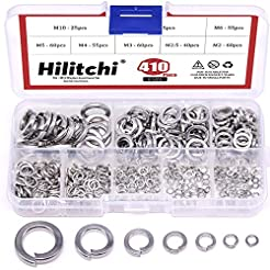 Hilitchi 410-Pcs [8-Size] 304 Stainless ...