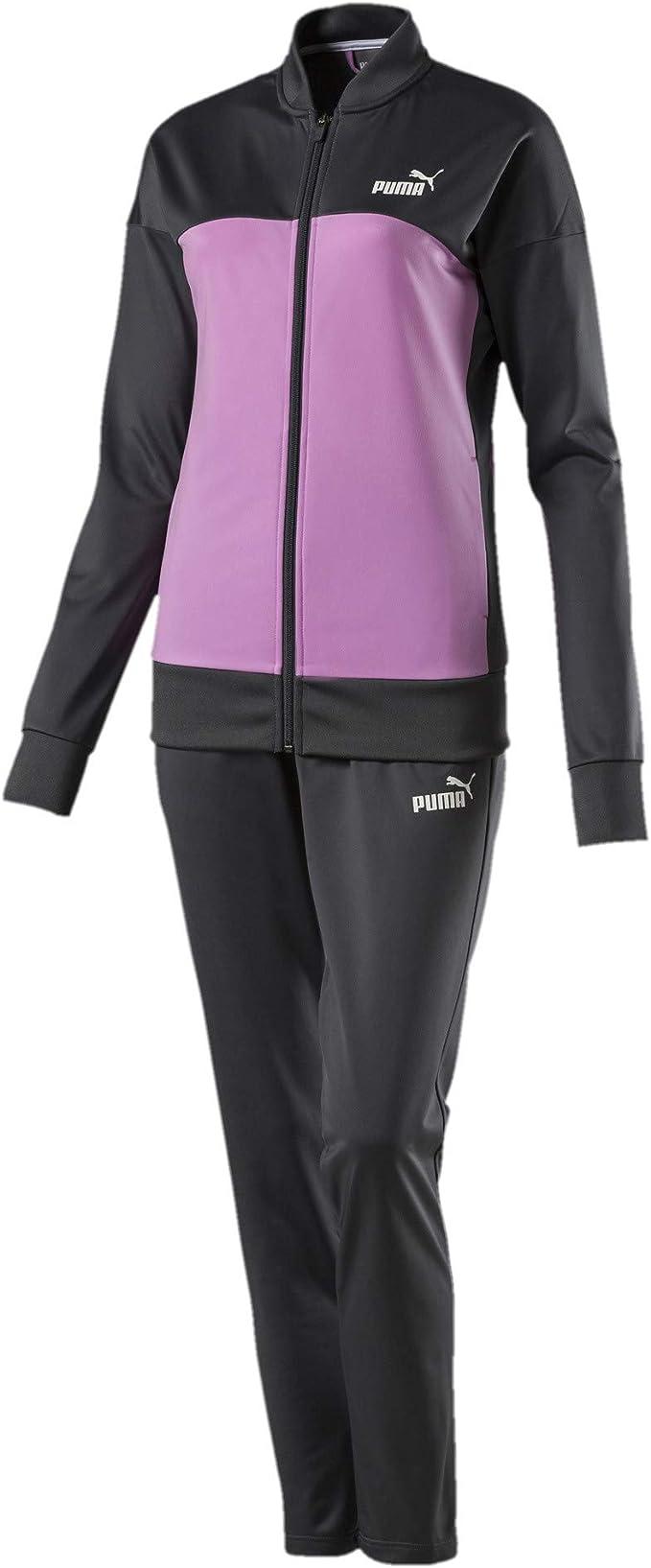 PUMA Damen Classic, Op Trainingsanzug: : Bekleidung