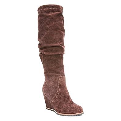 7540c5d59c5e Dr. Scholl s Women s Inka - Original Collection Brown Suede Boot ...