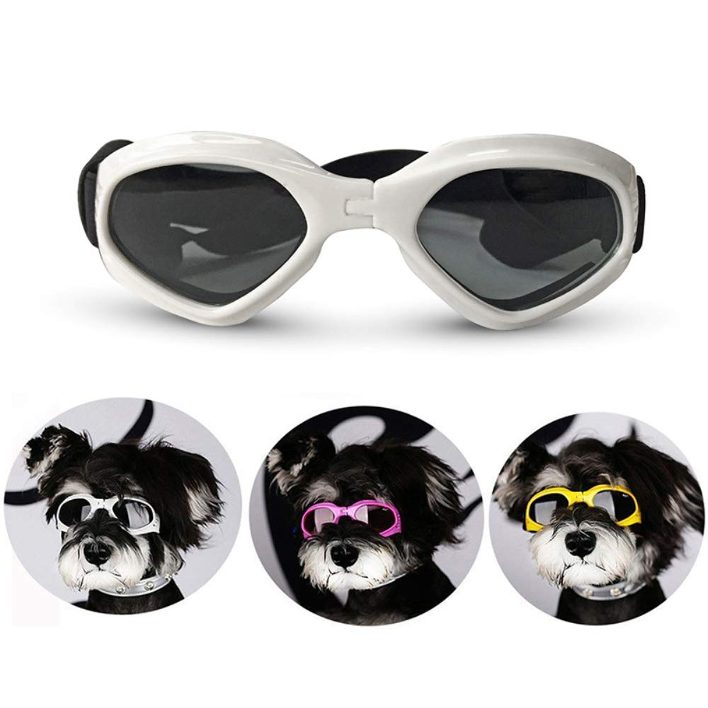 Amazon.com: LHYL Pet Dog Goggles, Folding Pet Dog Sunglasses ...