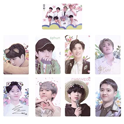 Youyouchard BTS Bangtan Boys Love Yourself 结Answer BTS Photocards Kpop BTS  Transparent Cards TPU Bangtan Boys Suga Jimin Jungkook Photo (H33: