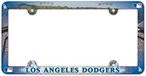 WinCraft MLB Los Angeles Dodgers LIC Full Color Plate Frame