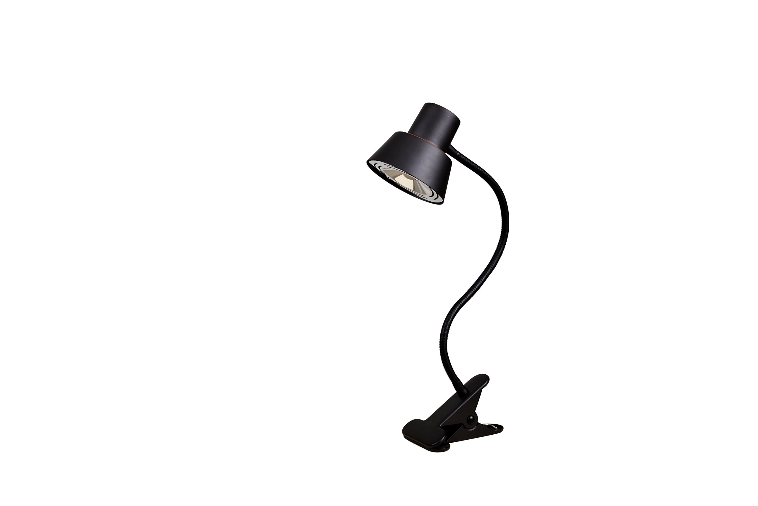 Tensor 19849-000 LED Gooseneck Clip-On Desk Lamp, 14'',Bronze