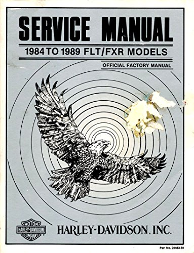 Service Manual 1984 To 1989 FLT / FXR Models ()