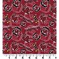 University of South Carolina Cotton Fabric with New Tone ON Tone Design Newest Pattern