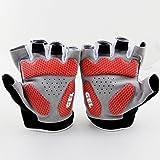 Xinzechen Cycling Half Finger Gloves Shockproof