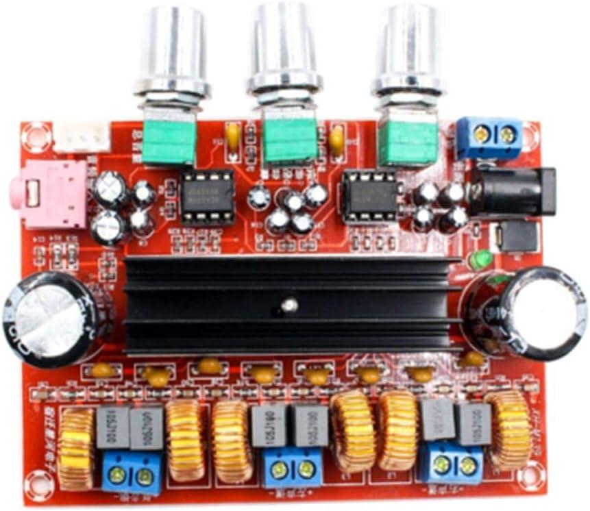 Gazechimp TPA3116 D2 DC 12V 24V 50Wx2 + 100W 2.1 Canales Amplificador De Audio De