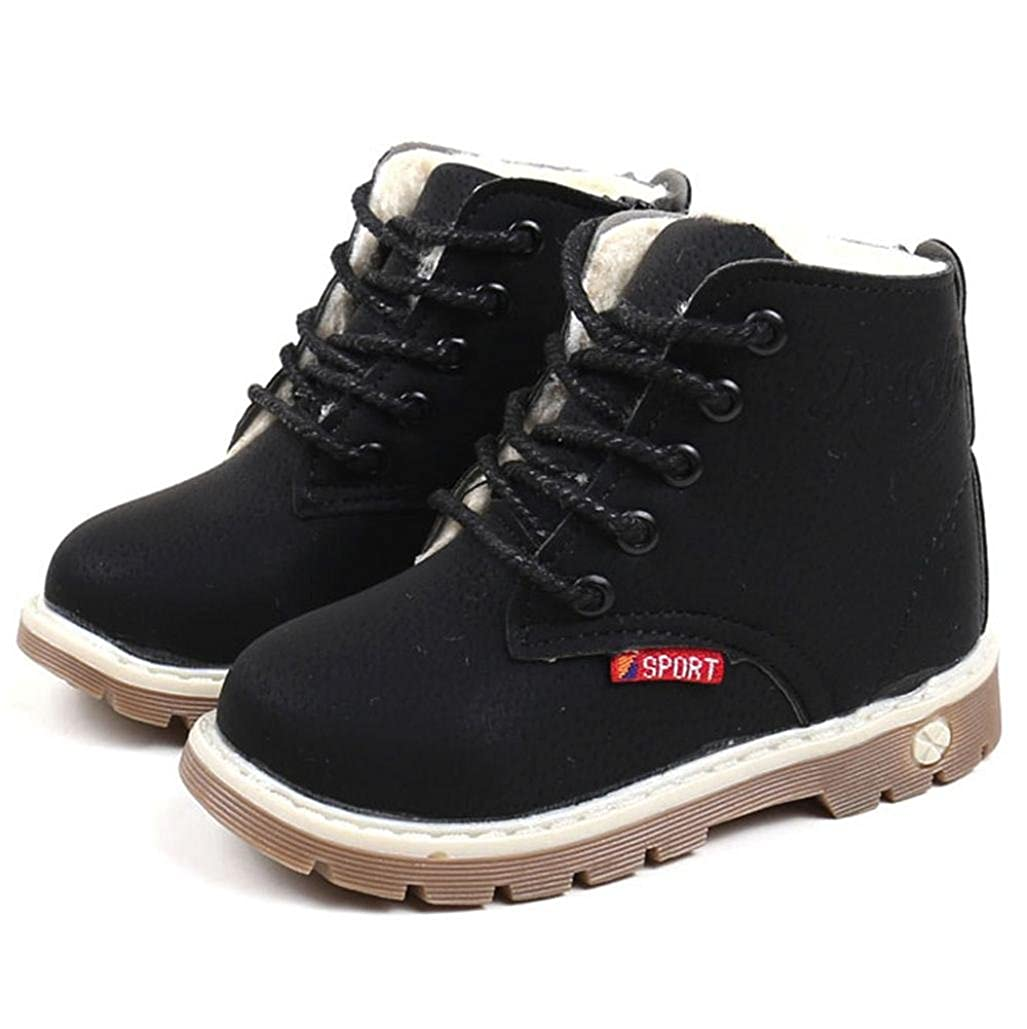 CMrtew 1-6 Years Boys Girls Cold Weather Snow Boot