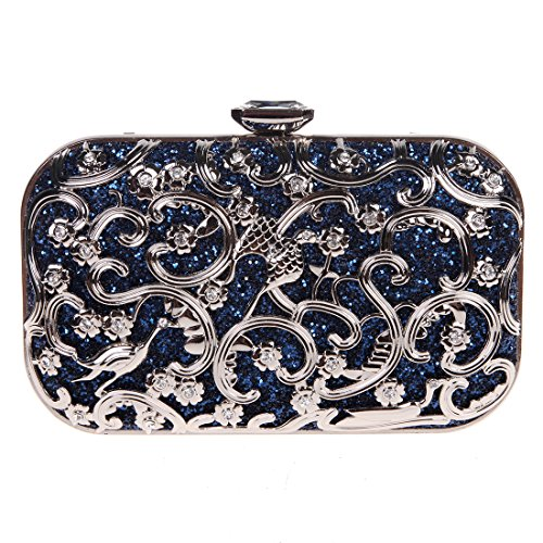 Fawziya Bird Purses And Handbags For Women Bags Online Shopping Fashion-Navy Blue