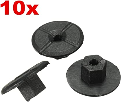 10 HONDA mud splash guard flap wheel arch panel cover lining fastener clips