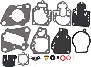 ApplianPar Outboard Carburetor Carb Rebuild Kit 1395-9761 1395-9725 1395-9179 for Mercury Mariner 6 8 9.9 10 25 20 25 HP