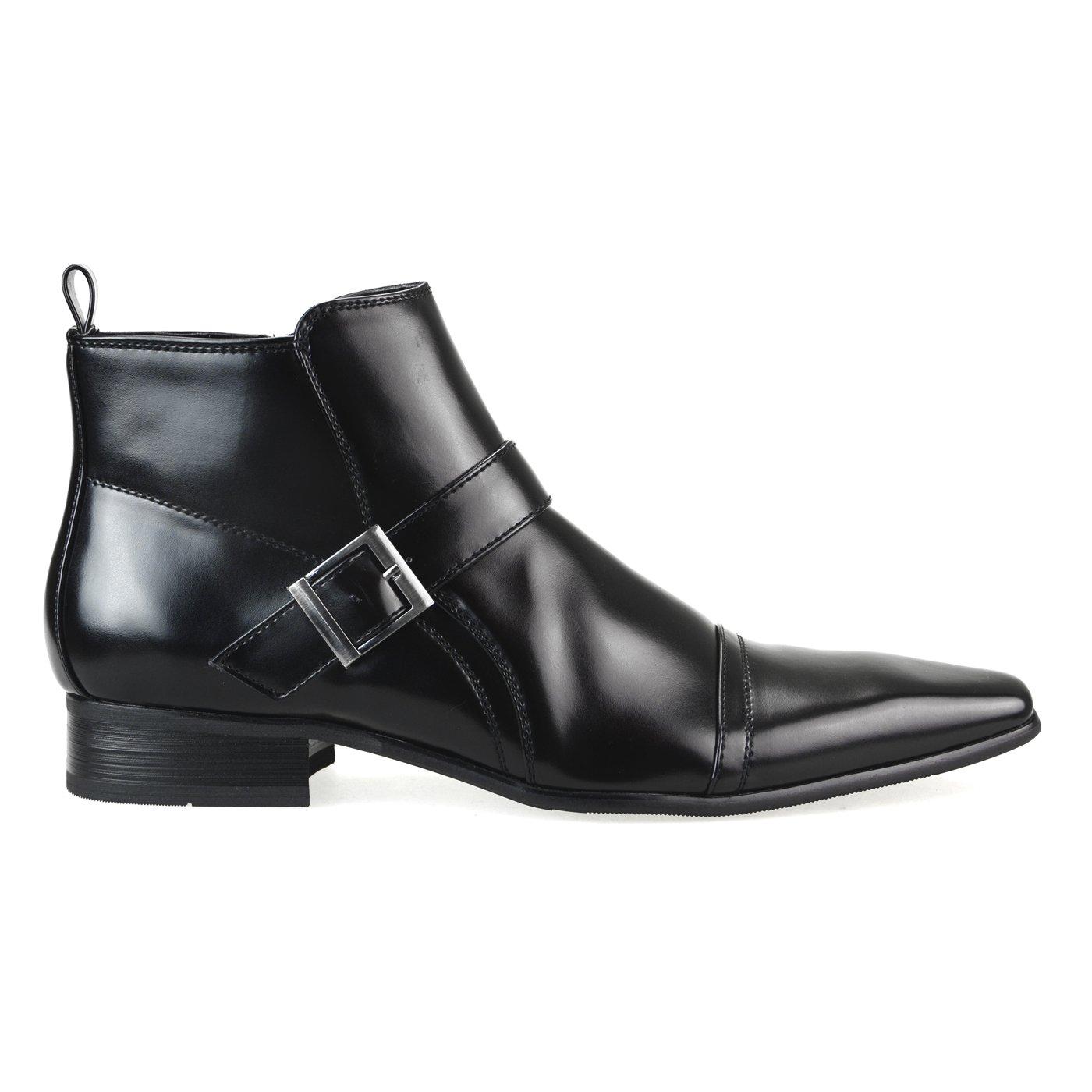 【11960円相当】 撥水加工 低反発 2足セット ビジネスシューズ メンズ ビジネスブーツ デザート ブーツ ショートブーツ ビジネス メンズ 靴 紳士靴 福袋 [ エムエムワン ] MM/ONE 【 UZF39B 】 B01LRVX3O0 27.0 cm 3E|Aブラック+Dブラック Aブラック+Dブラック 27.0 cm 3E