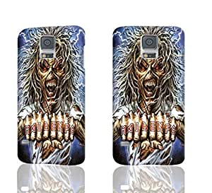 The 25 Best Iron Maiden Intros Pattern Image - Protective 3d Rough Case Cover - Hard Plastic 3D Case - For Samsung Galaxy S5 i9600