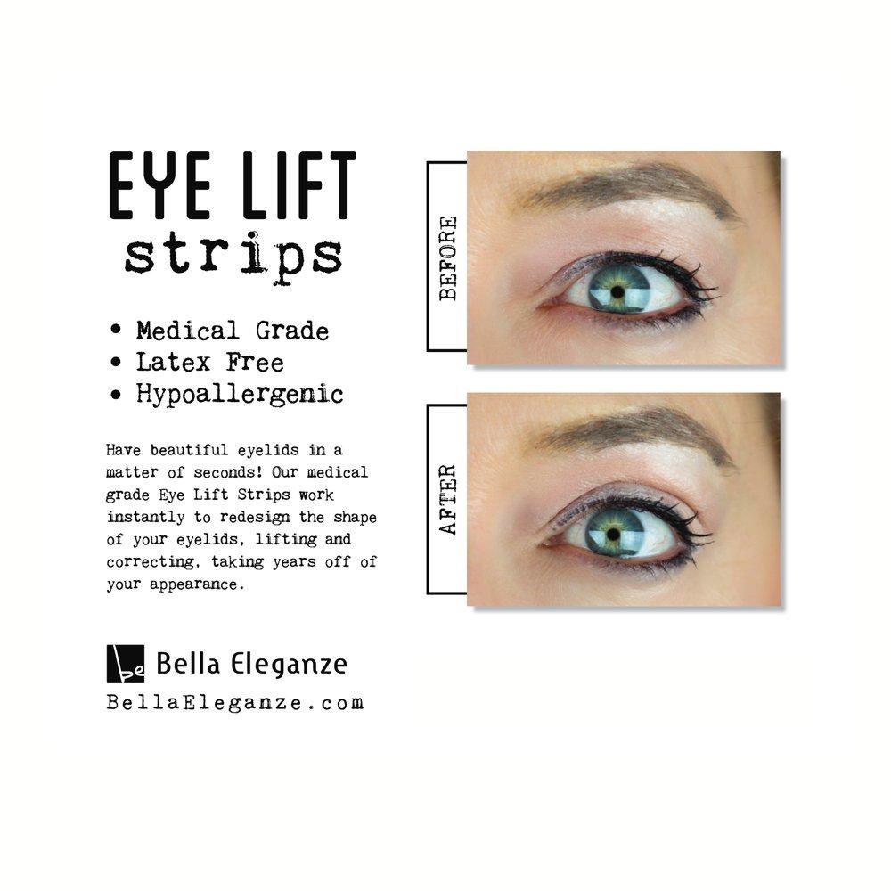 Amazon com: Bella Eleganze Beauty Eyelid Tape Instant Eyelid Lift