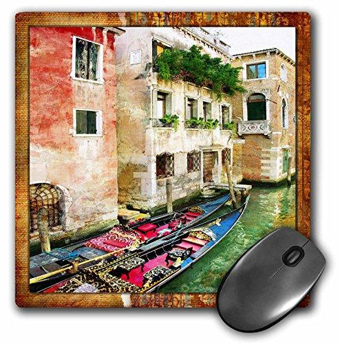 3dRose Susan Brown Designs Places Themes - Venetian Canal - MousePad (mp_34124_1)