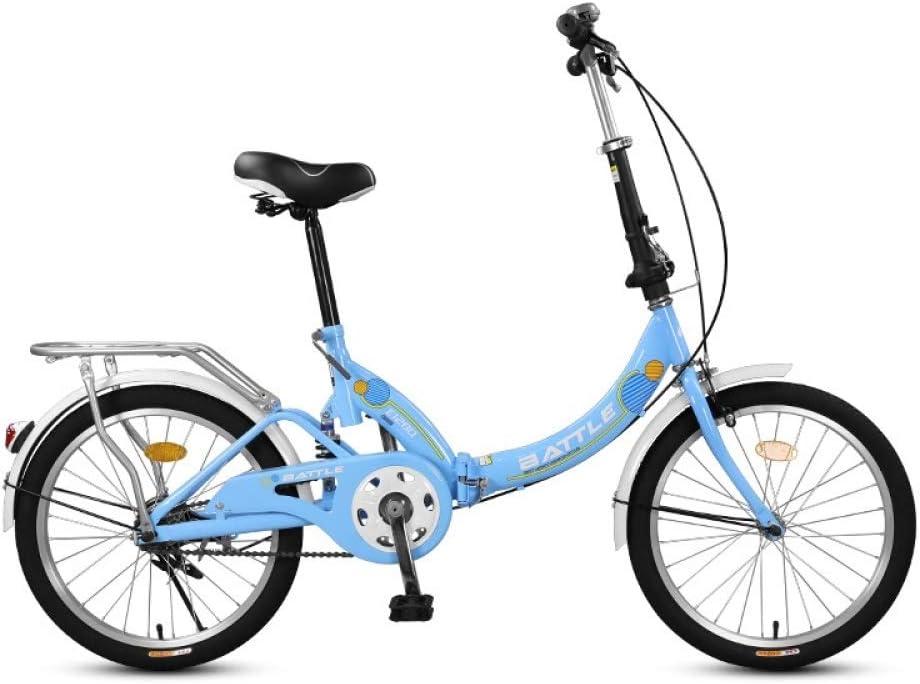 ZLXLX Bicicleta Plegable para Adultos, Estudiantes de Primaria Y ...