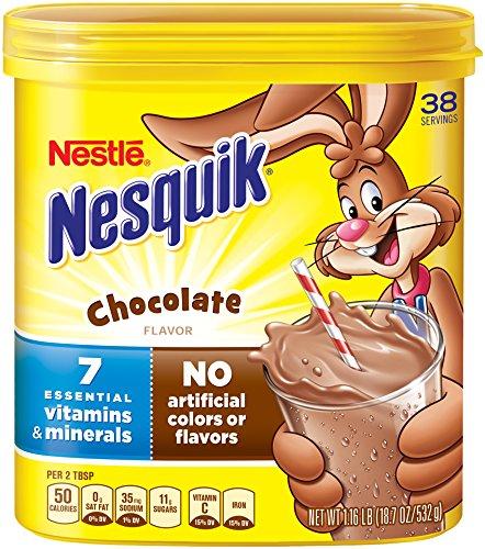 Nesquik Milk Shake Powder, Chocolate, 18.7 Ounce ()