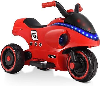 6V 3 Wheel Electric Battery Power Kids Toddler Ride On Motorcycle Trike Bike Toy