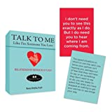 Talk to Me Like I'm Someone You Love: Relationship Repair in a Flash--64 Flash Cards for Real Life (Tarcher Inspiration Cards)