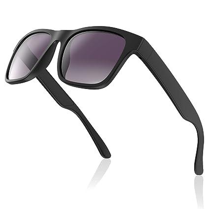Avoalre Gafas de Sol para Hombre 2019 Gafas Deportiva Ciclismo Vintage Inastillables & Anti-Aceite Gafas para MTB Running Coche Moto Montaña – Negro
