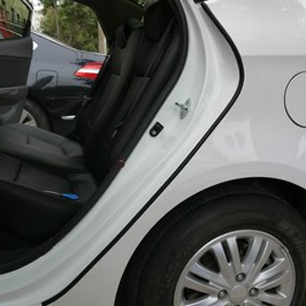 Amazon.com TTnight 6m Car Door Edge Protector Anti Scratch Rubber Strip Guard Cover Crash Rubber Sealing Strip Moulding Trim Strip Black Automotive & Amazon.com: TTnight 6m Car Door Edge Protector Anti Scratch Rubber ...