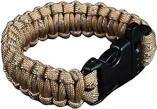 Kingnew Bracelet/Paracorde Multifonctions/Brassard de soirée pour l'extérieur et Camping Vert