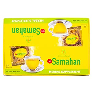Link 14 Herbs Samahan Tea with Ginger x 100 Sachets by Link Natural