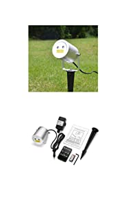 Moving firefly LedMall Blue and Red Remote Control Laser Christmas Lights, Garden, Events Decoration, and Landscape Lights