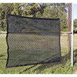 4' X 6' Shade Mesh Tarp, Black Mesh Material - Made in The USA!