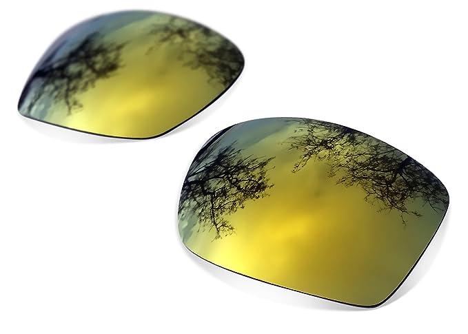 Sunglasses Restorer Lentes Polarizadas de Recambio Color Gold24K para Oakley Fuel Cell