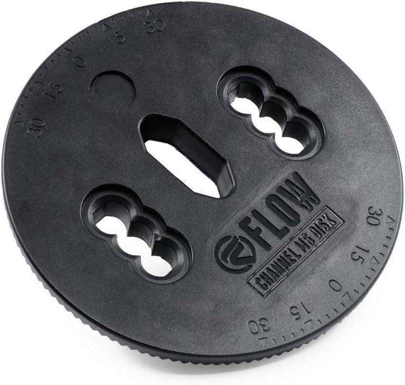 Flow Channel M6 Plastic Binding Disc