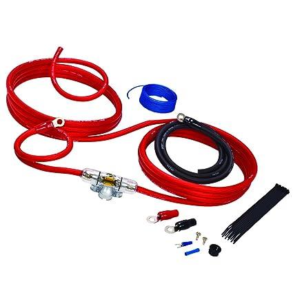 stinger sk4641 4 gauge 4000 series car audio amplifier installation kit  stinger wiring harness #12