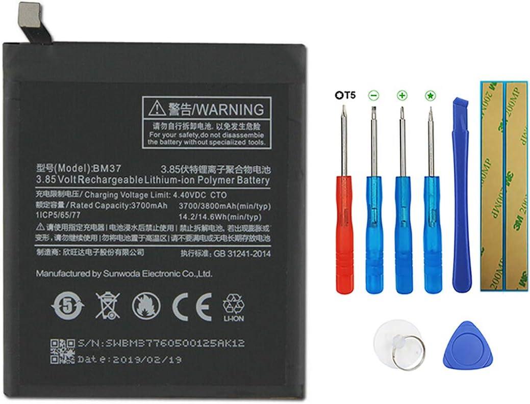 Swark BM37 - Batería de Repuesto Compatible con Xiaomi Mi 5s Plus con Herramientas
