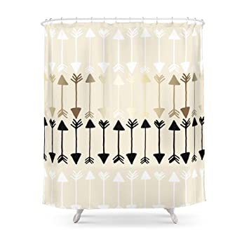 Society6 Arrows Shower Curtain 71quot