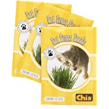 CHIA Cat Grass Refill Seeds 6 packages