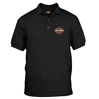 304fb8bb6 Harley-Davidson Men s Polo Shirt - Bar   Shield