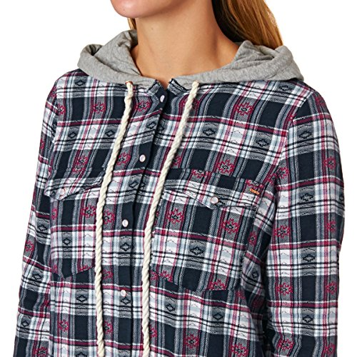 Only Shirts - Only Dagania Check Hooded Shirt -...
