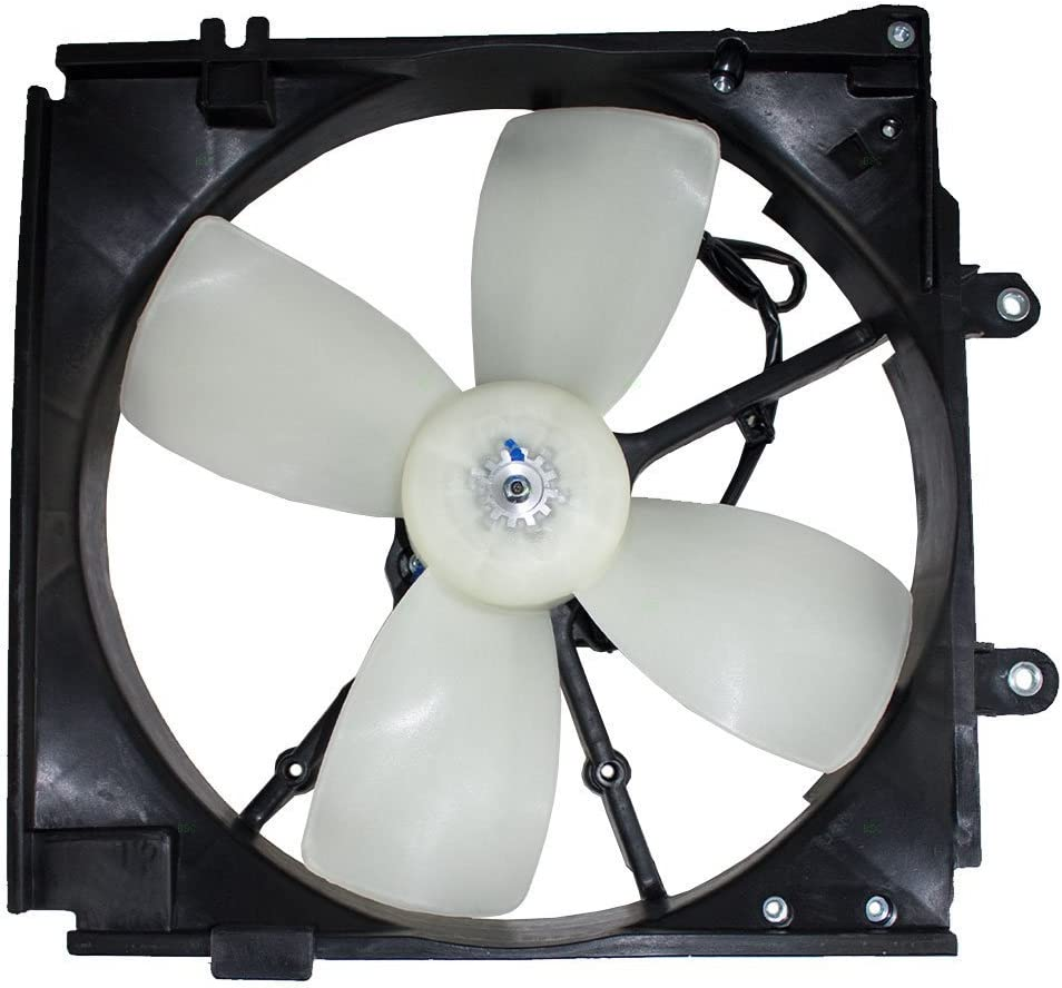 Engine Radiator Cooling Fan with Motor MA3115109 NEW For 98-99 Mazda 626