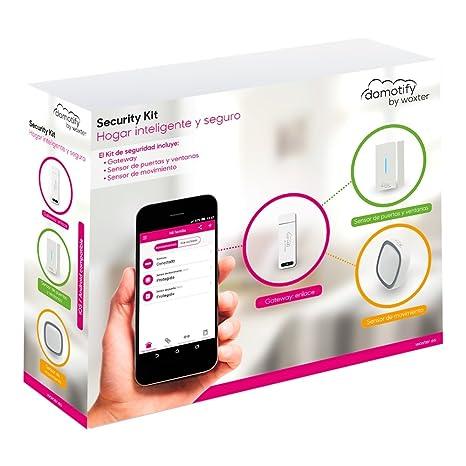 Woxter Domotify Security Kit - Kit de seguridad domótica de Domotify, incluye Gateway, Sensor de Movimiento y Sensor de Puertas/Ventanas, Domótica ...