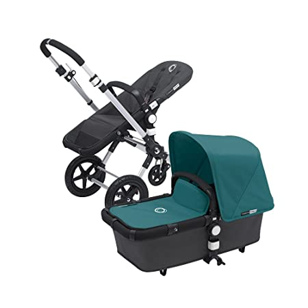 Bugaboo Cameleon3 Canvas Tailored Fabric Set, Petrol Blue Discontinued by Manufacturer